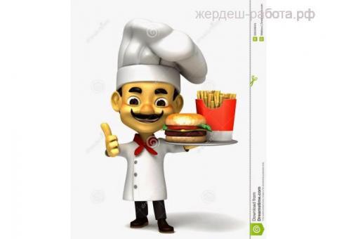 Повар в бургерную