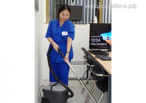 Уборщица