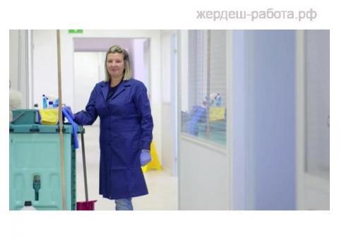 Уборщица-санитарка