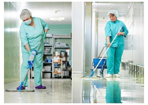 Уборка в больнице