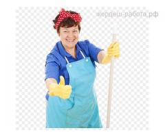 Уборщица помещений