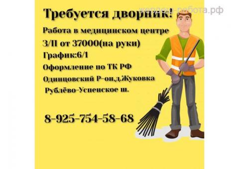 ДВОРНИК в мед. центр