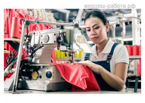 Требуется швея, пошив трикотажа и рабочей одежды