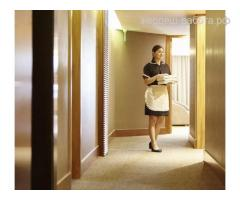 Требуются горничные в отели Москвы