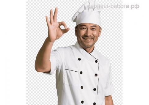 Кухонный работник в ресторан быстрого питания